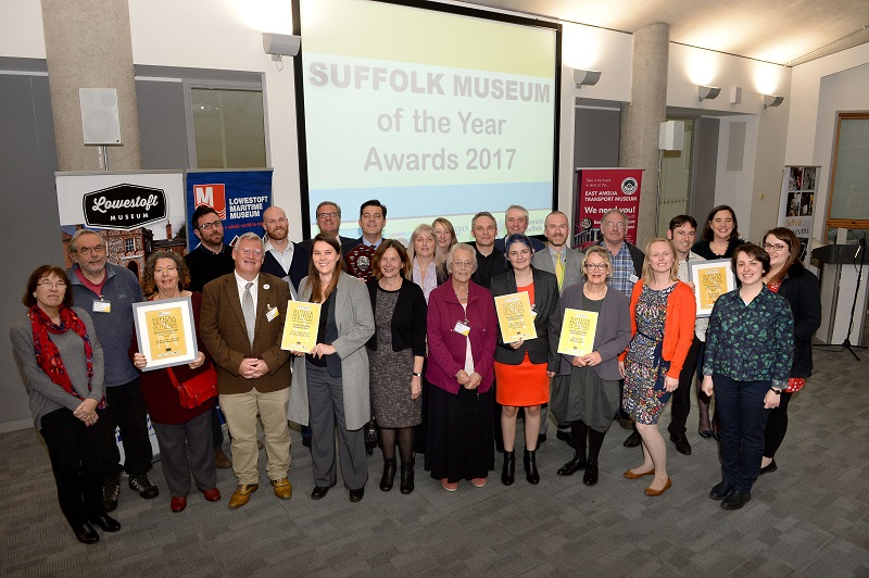 Suffolk Museum of the Year Awards 2017